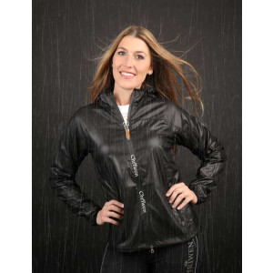Lightweight-hooded Jacket Galaxy black by Chriwen
