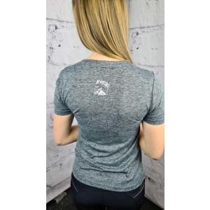 """T-Shirt """"Nova"""" Halbarm grau XS"""