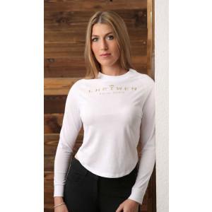 "Shirt ""Sunny"" (UV-Protect) white S"